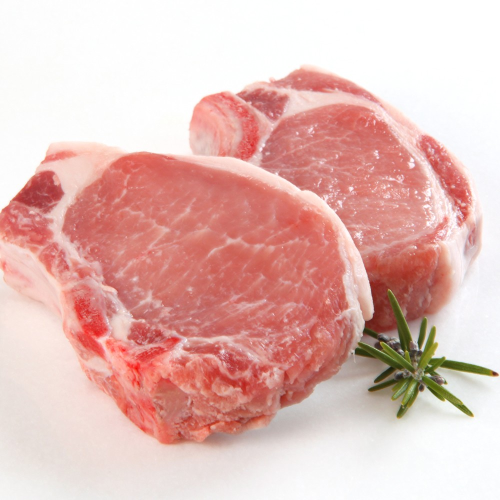 Pork collar chops