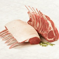 Trimmed rack of lamb