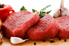 Beef sirloin steaks